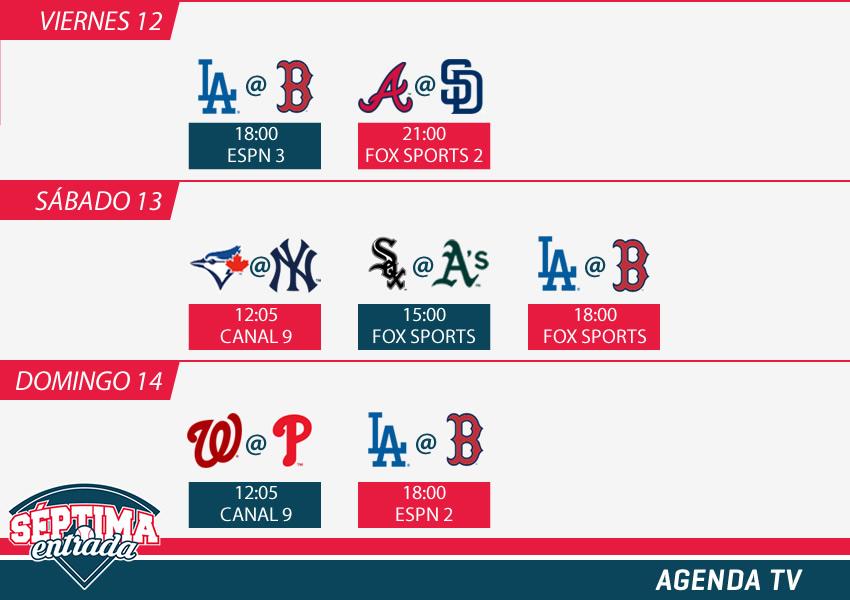LA Dodgers vs  Boston Red Sox: Horario, dónde y cómo ver en