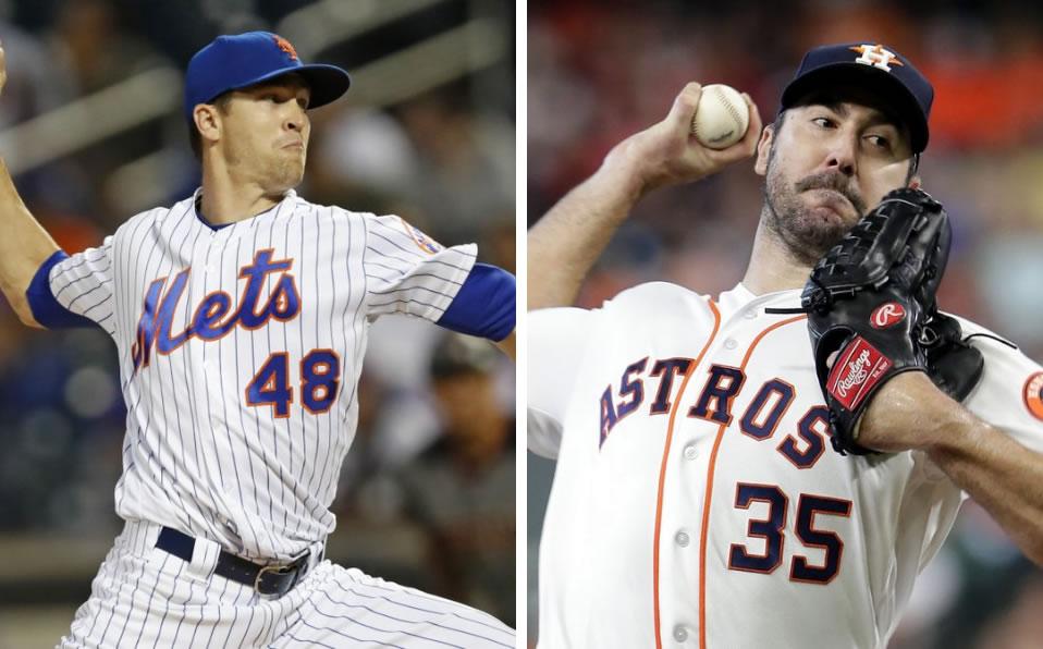 MLB: Jacob deGrom y Justin Verlander ganan el Premio Cy Young 2019 - Septima Entrada