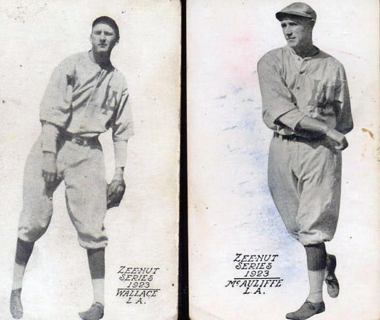 Tarjetas de colección Ligas Menores 1923