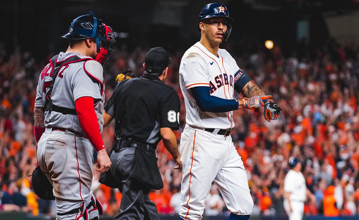 ¡CON PODER! Astros pega primero a Boston en Serie de Campeonato - Séptima Entrada